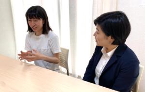 インタビューに答えるBAMBOO SUZUKI代表鈴木さん