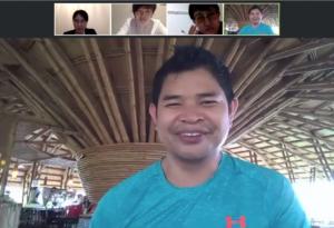 カンボジアで若者の雇用創出のため、竹リゾートを創設するなどソーシャルビジネスを展開するバンドン氏